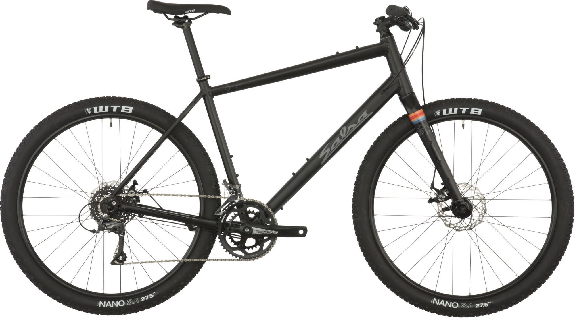 Salsa Journeyman Flat Bar Claris 650 Bike