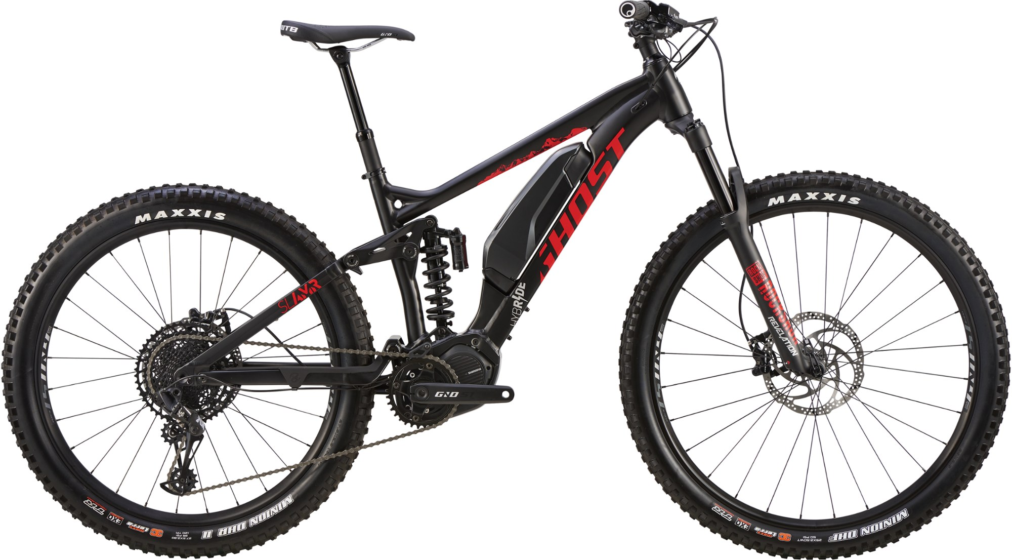 GHOST Hybride SLAMR S2.7+ Electric Mountain Bike - 2019