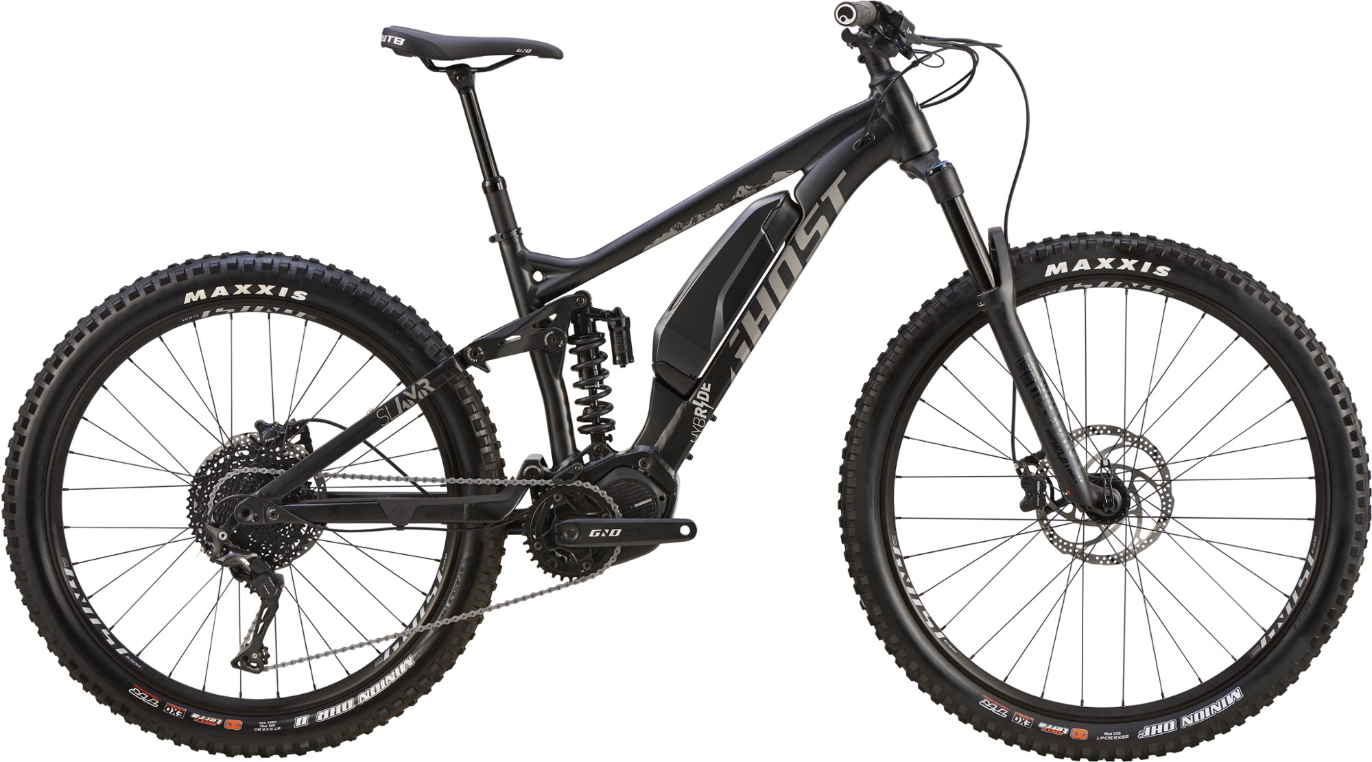 GHOST Hybride SLAMR S1.7+ Electric Mountain Bike - 2019
