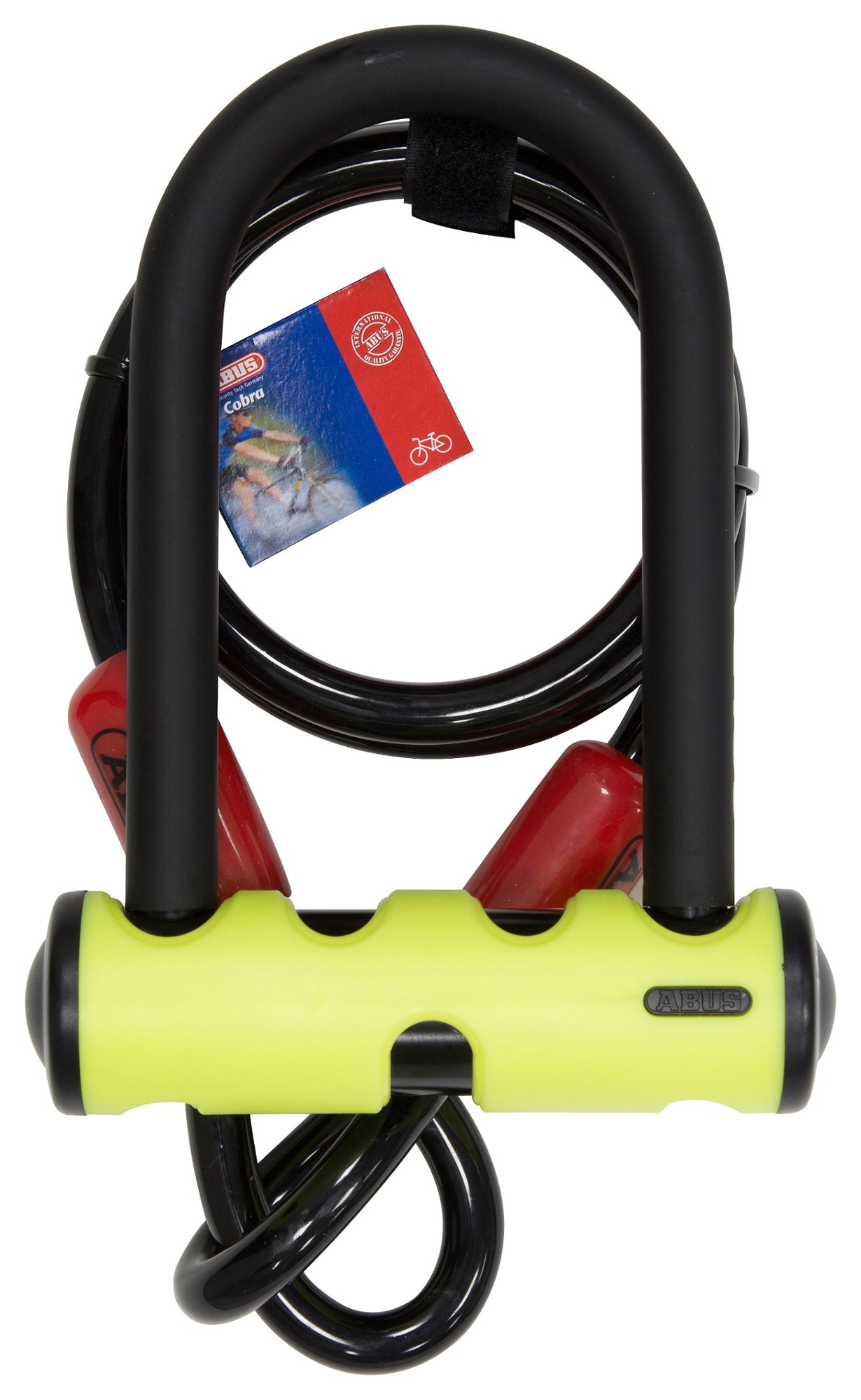 ABUS U-Mini 401 Bike Lock with Cobra Cable 10