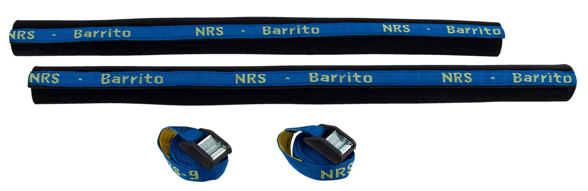 NRS Barrito Rack Pads with Straps - Pair