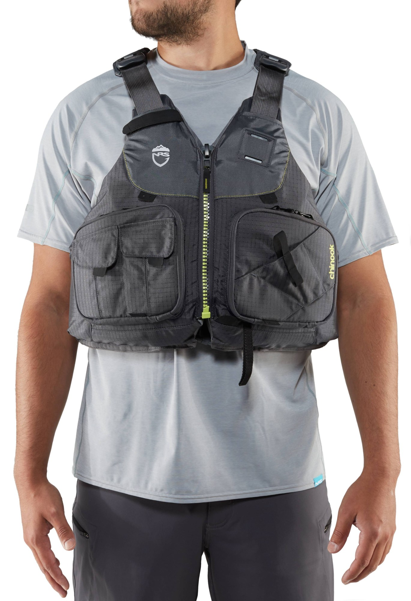 NRS Chinook PFD - Charcoal