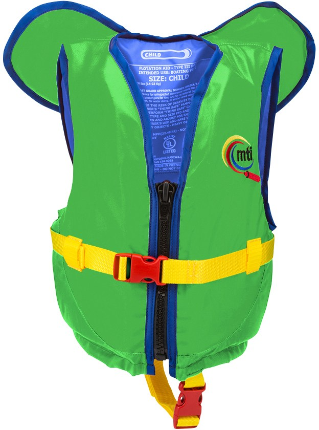 MTI Child PFD with Collar - Toddlers'/Kids'