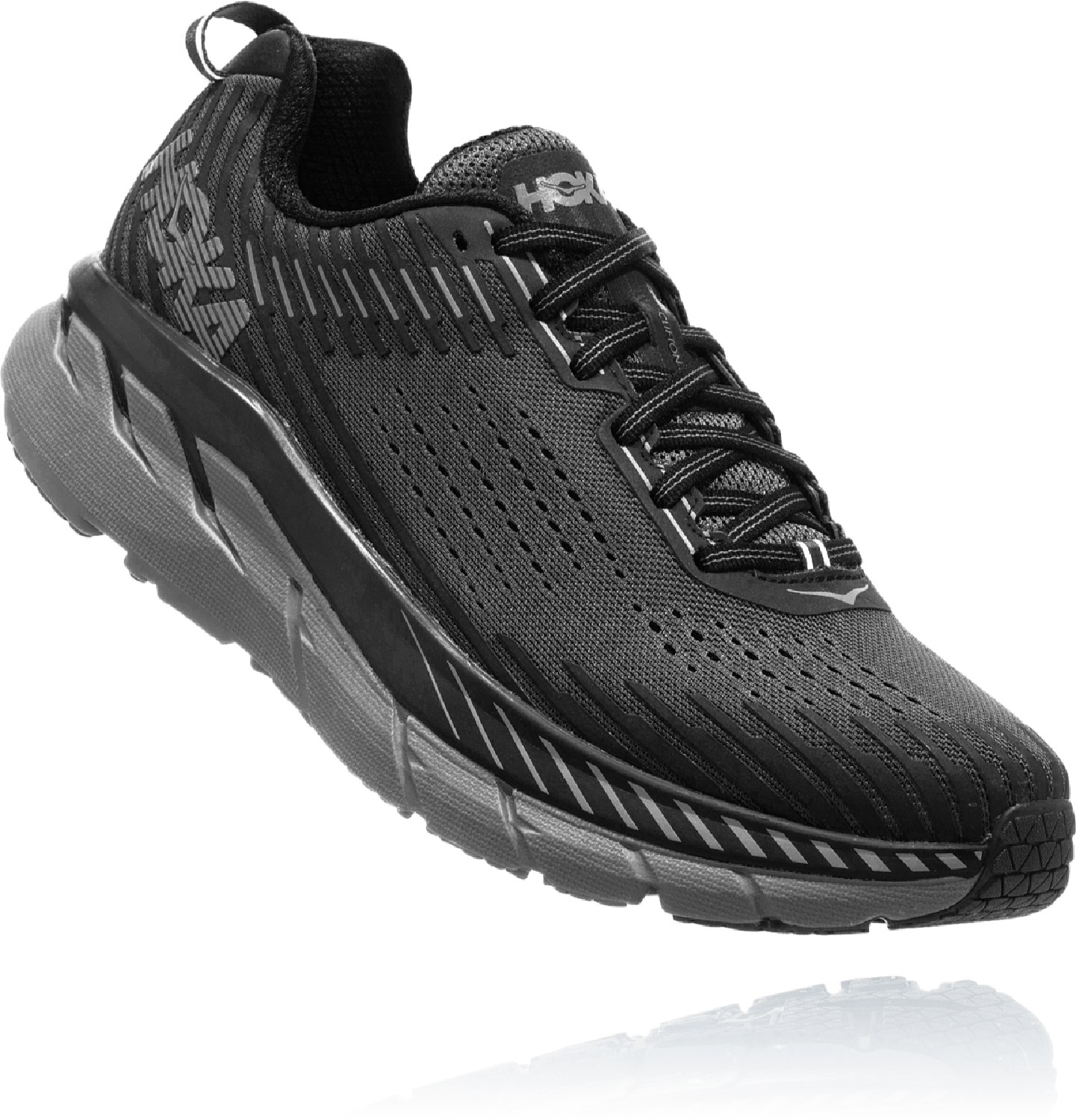 HOKA ONE ONE Clifton 5 Road-Running Shoes - Men's