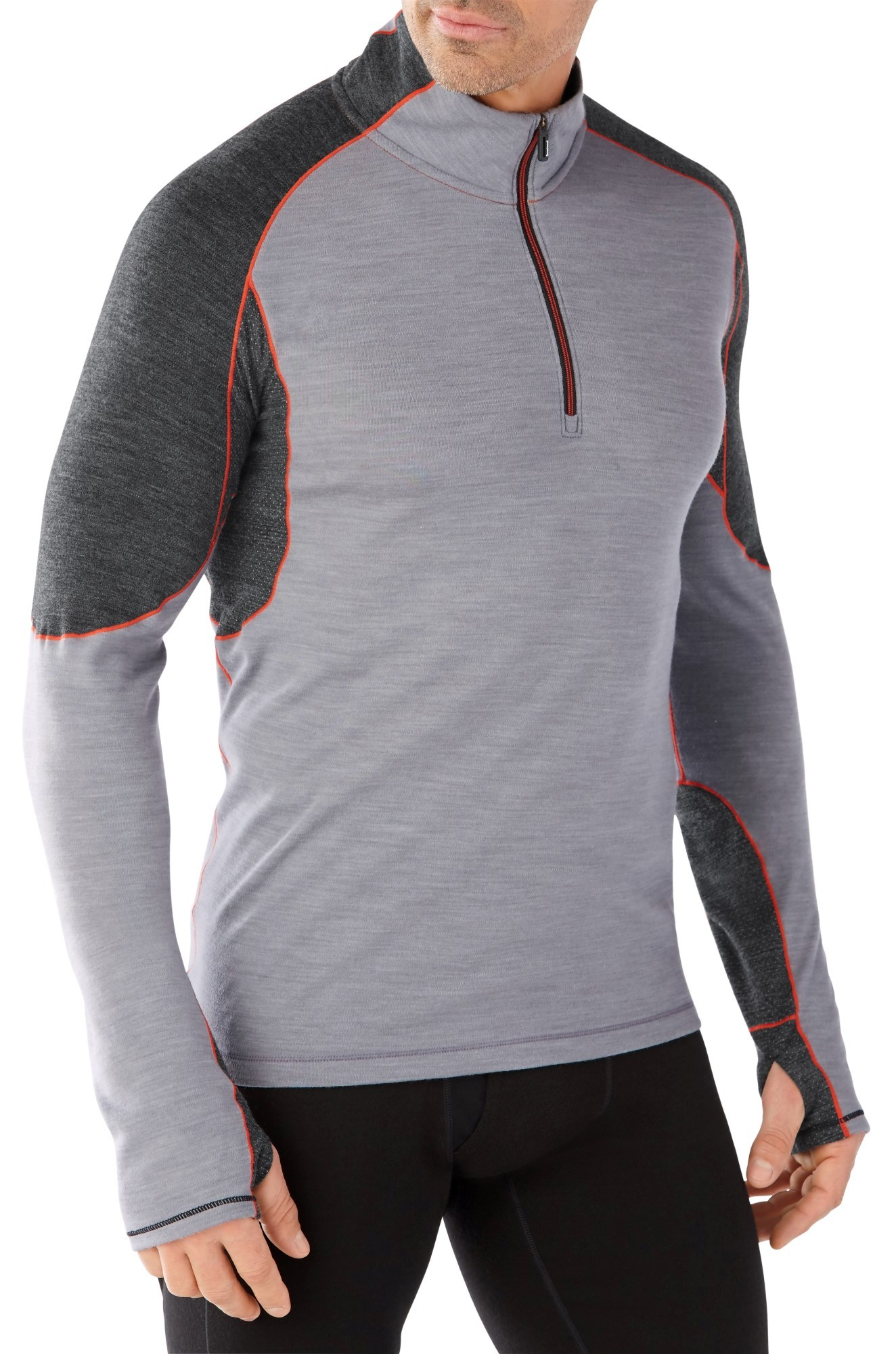 Smartwool PhD Light Base Layer Quarter-Zip Top - Men's