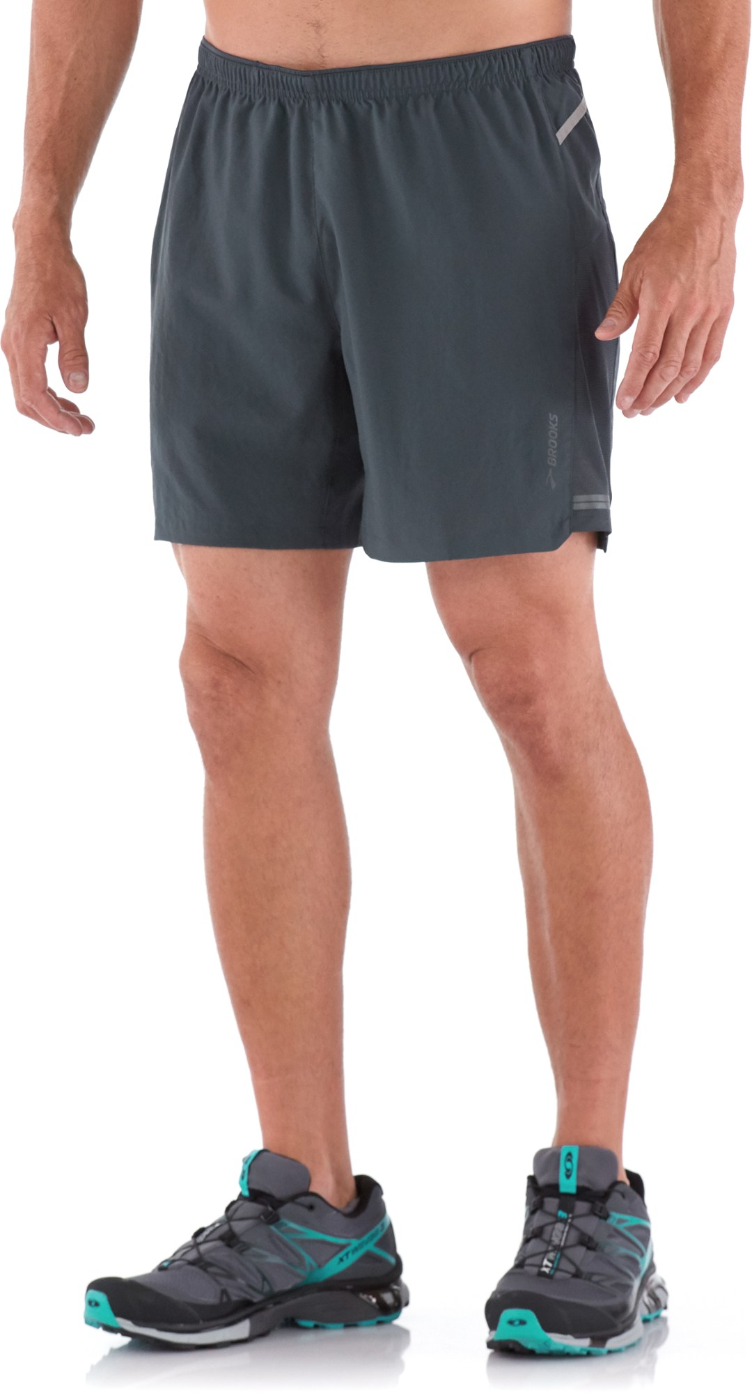 Brooks Sherpa 2-in-1 Shorts - Men's 7