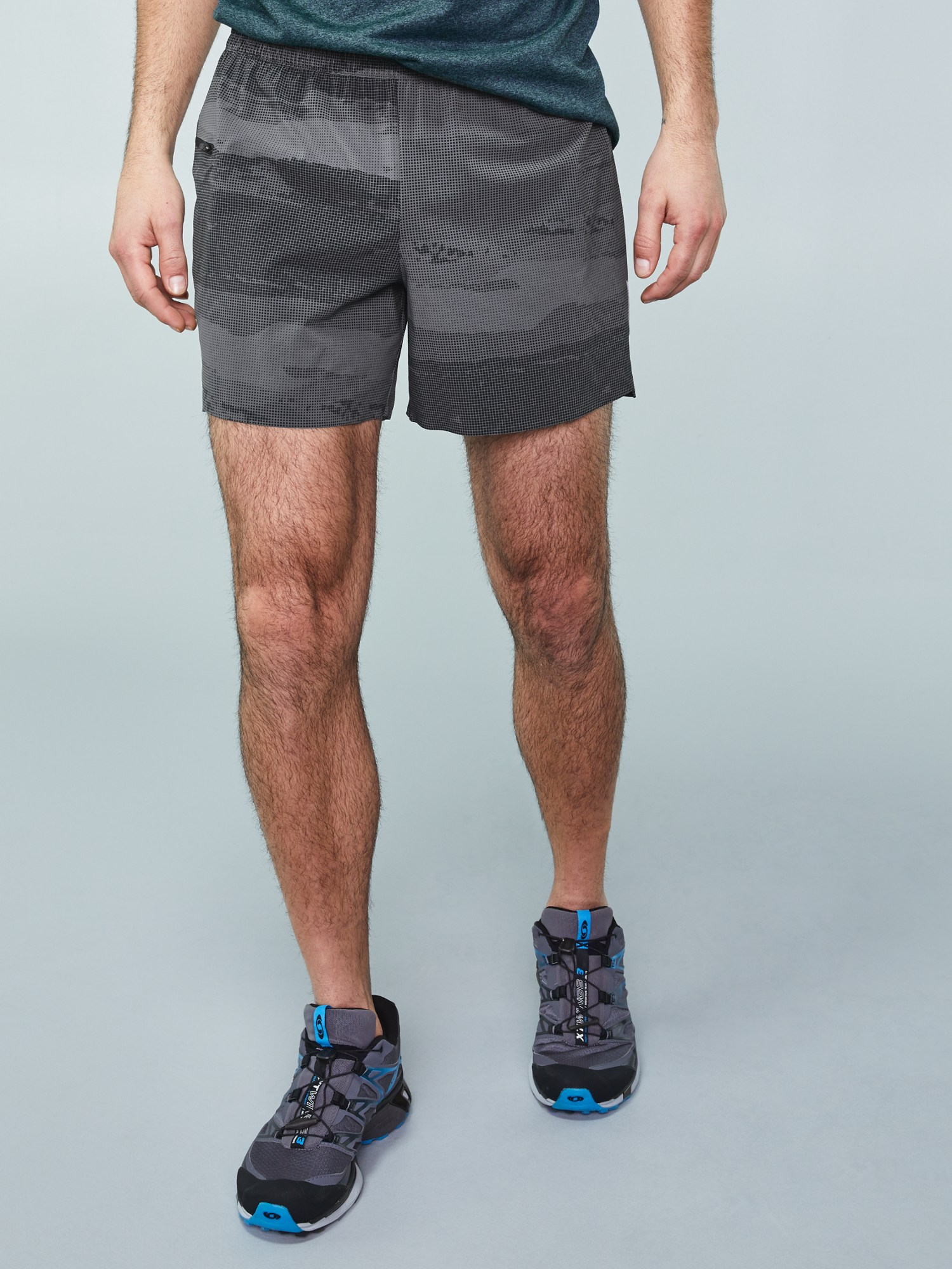 REI Co-op On The Trail Print Run Shorts - Men's