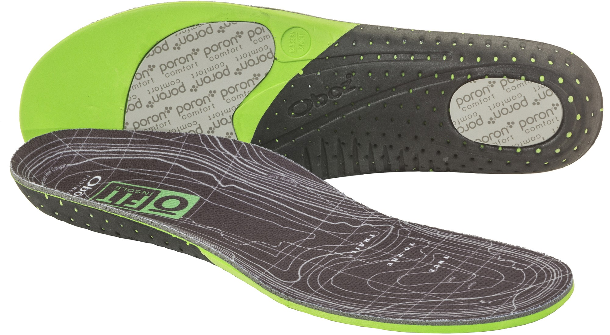 Oboz O FIT Plus Medium Arch Insoles