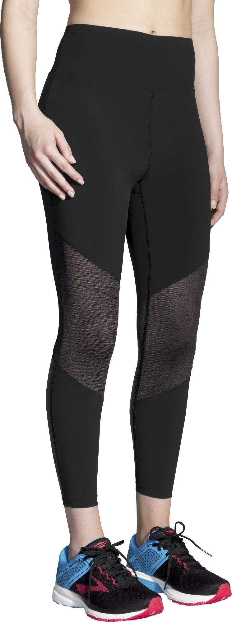 Brooks Ghost Mesh Crop Tights - Women's