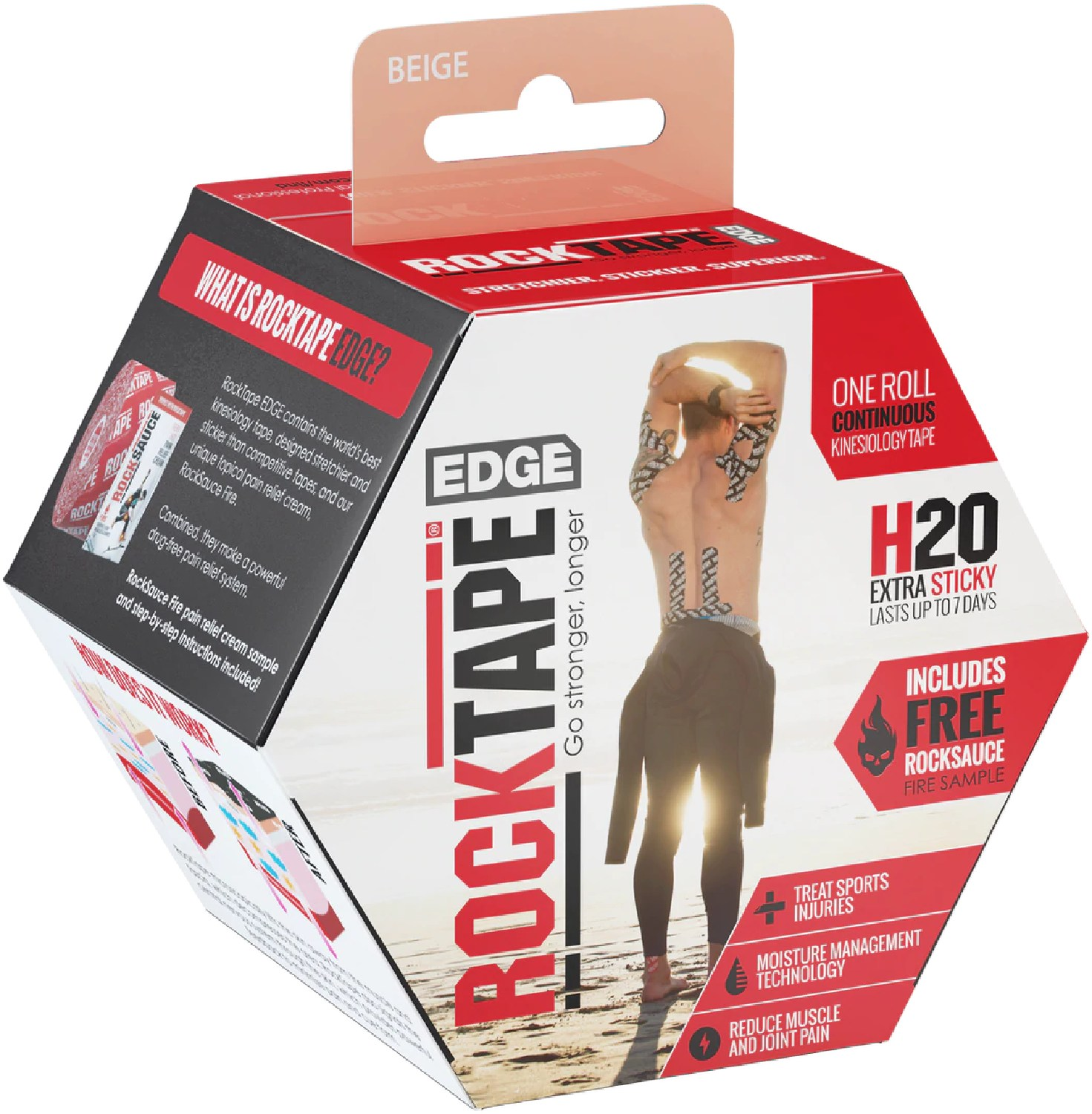 RockTape Edge H2O Kinesiology Tape