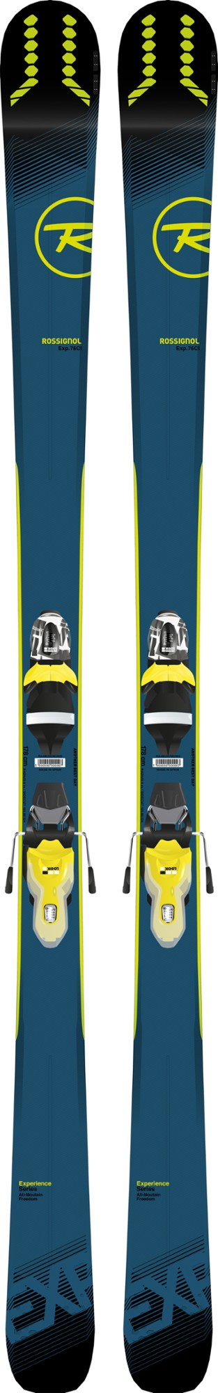 Rossignol Experience 76 Ci Skis with Bindings - Men's - 2018/2019