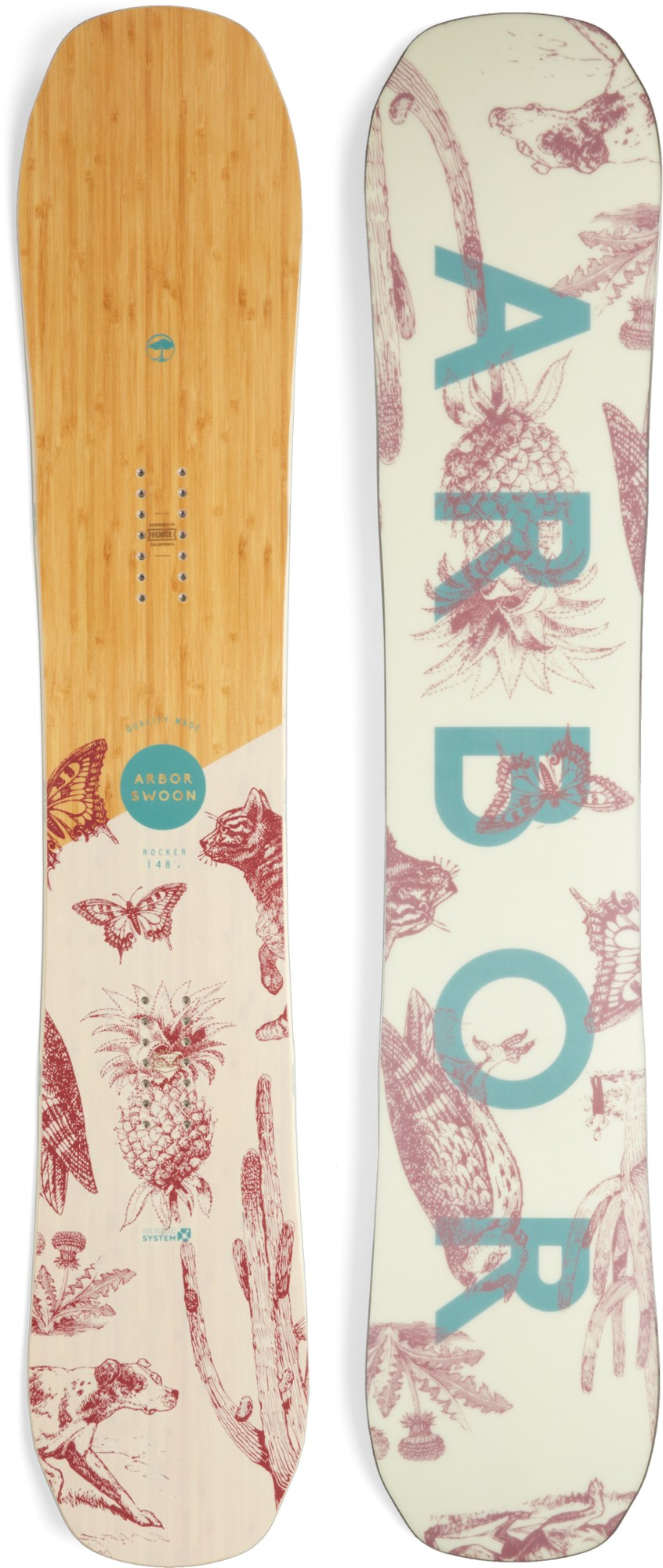 Arbor Swoon Rocker Snowboard - Women's - 2017/2018
