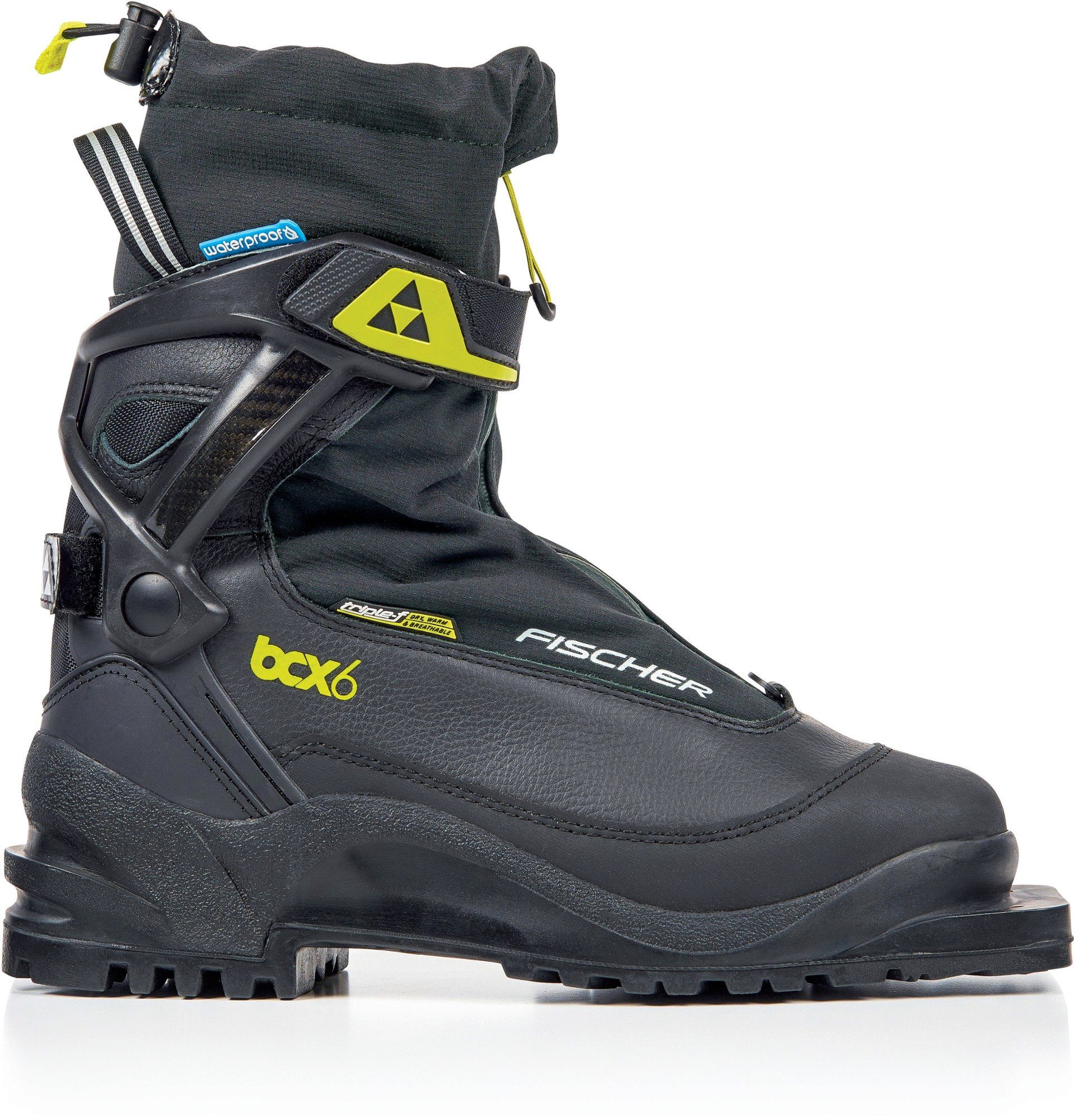 Fischer BCX 675 Waterproof 75mm Cross-Country Ski Boots - 2018/2019