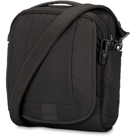 Pacsafe Metrosafe LS 200 Shoulder Bag - Black