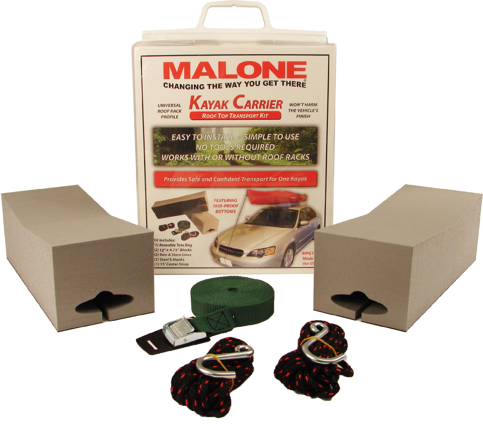 Malone Standard Kayak Carrier Kit